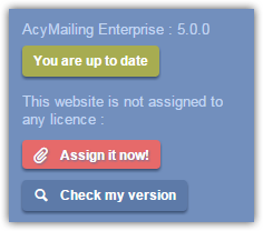 Assign licence